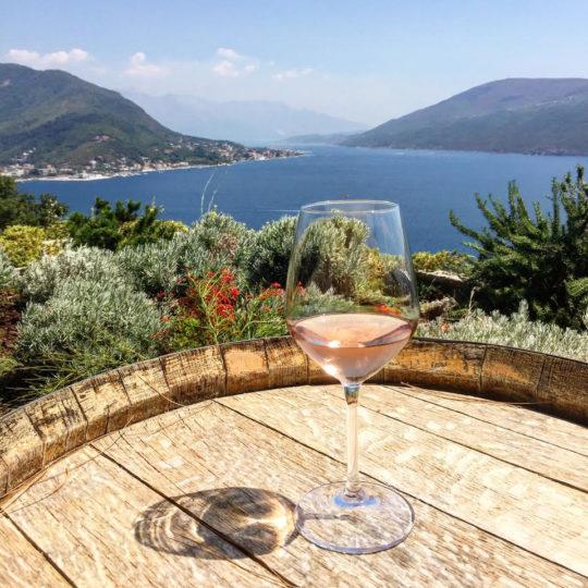 Montenegro wine tasting