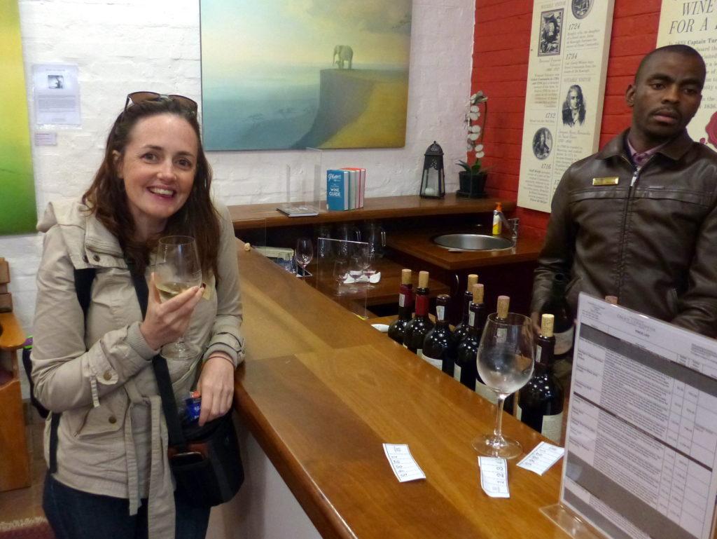 Constantia, South Africa wine tasting