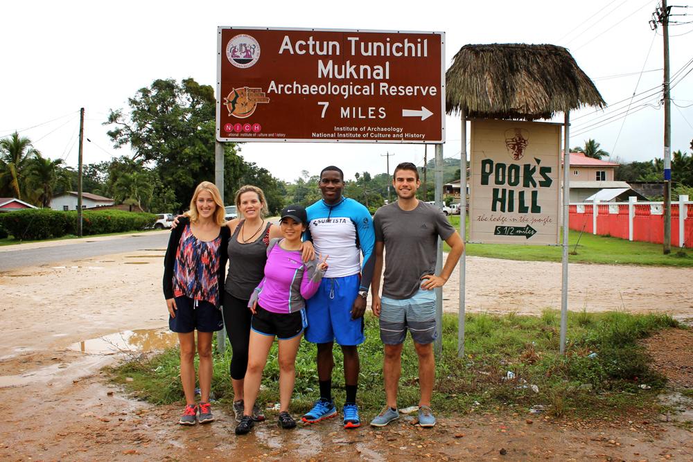 ATM Cave tour, Belize