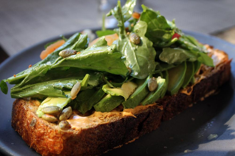 Avocado toast, Downtown L.A. food tour