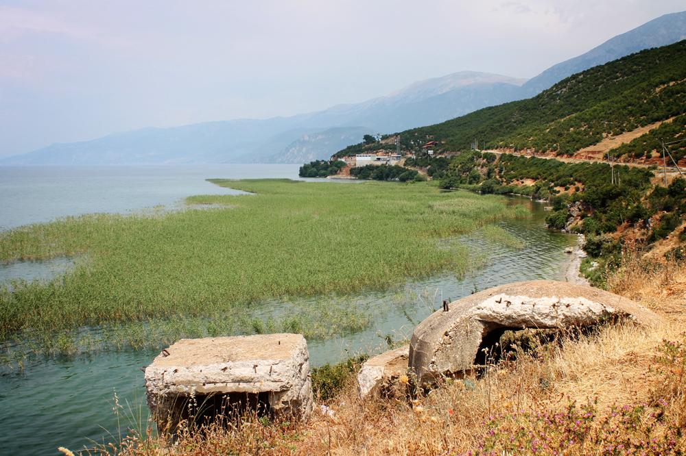 Balkan bunkers, Albania, Macedonia border