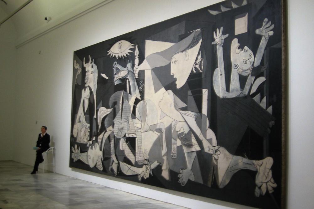 Guernica, Picasso, Reina Sofia, Madrid