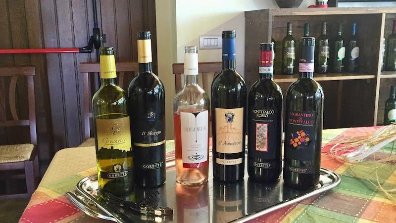 Umbria, Italy wine