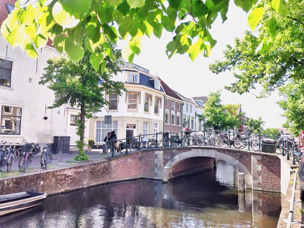Canals, Haarlem, Netherlands