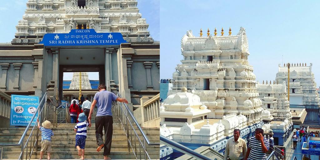ISKCON Temple, Bangalore, India