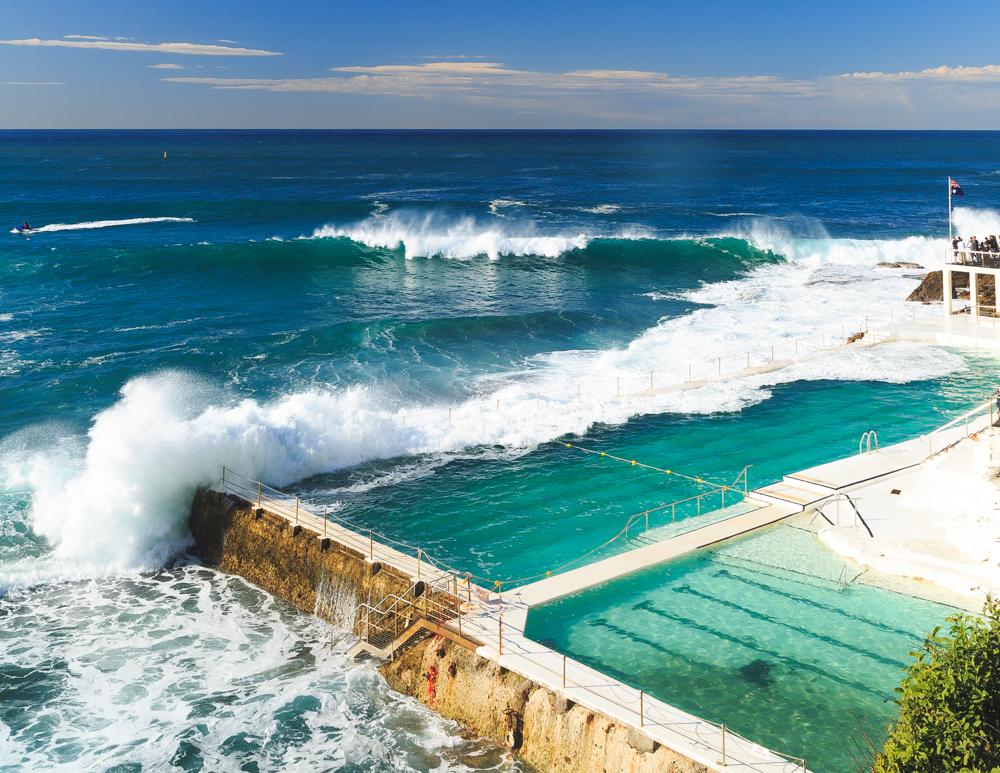Icebergs Ocean Bath, Bondi Beach, Sydney
