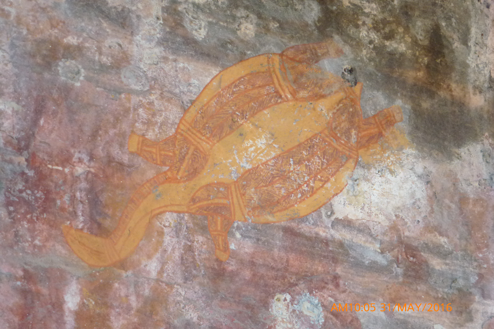 Aboriginal artwork, Darwin, Australia