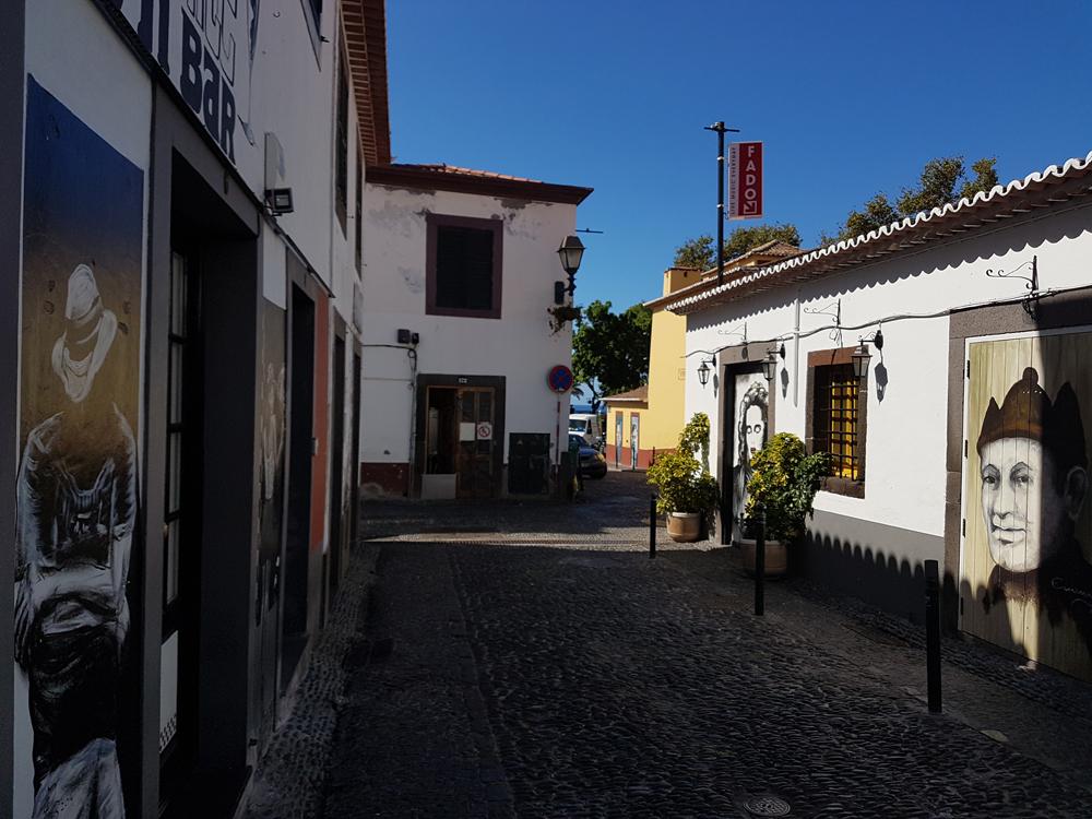Funchal Zona Velha Old Town