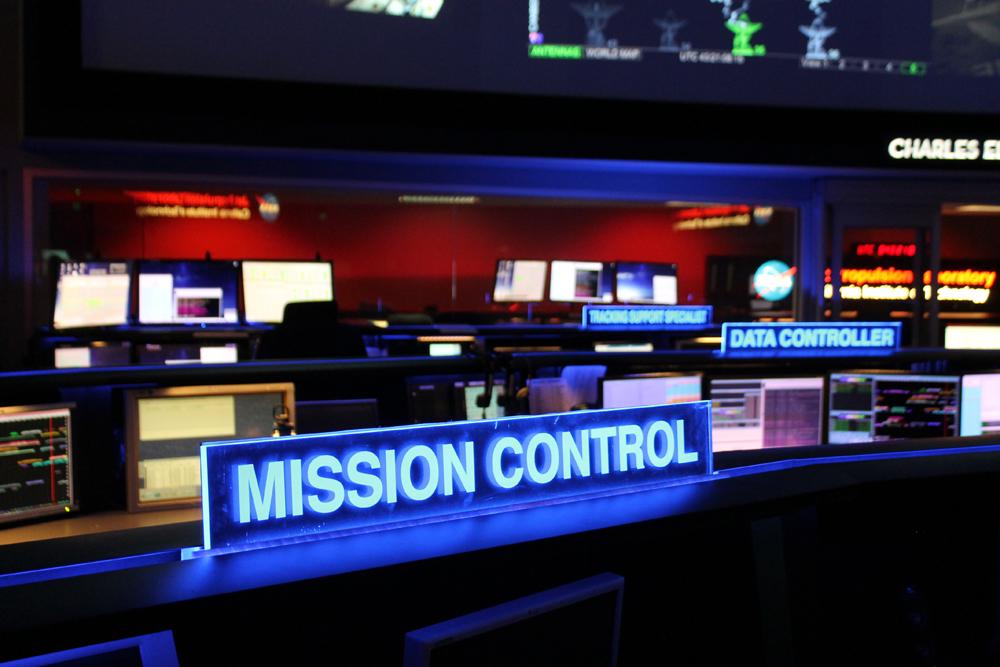 Jet Propulsion Laboratory Mission Control