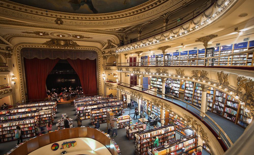 El Ataneo Grand Splendid bookstore, Buenos Aires