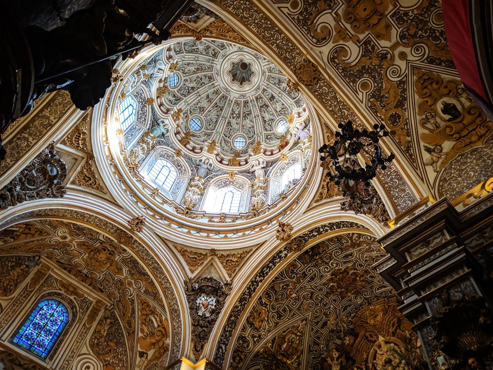 La Iglesia De La Virgen De Las Angustias, Granada, Spain