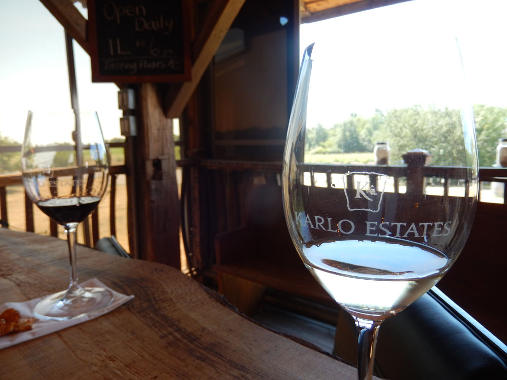 Wine Tasting, Canada: Karlo Estates