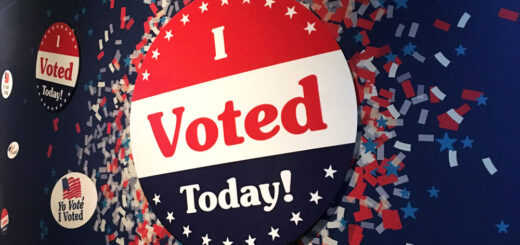 I Voted - Smithsonian Museum