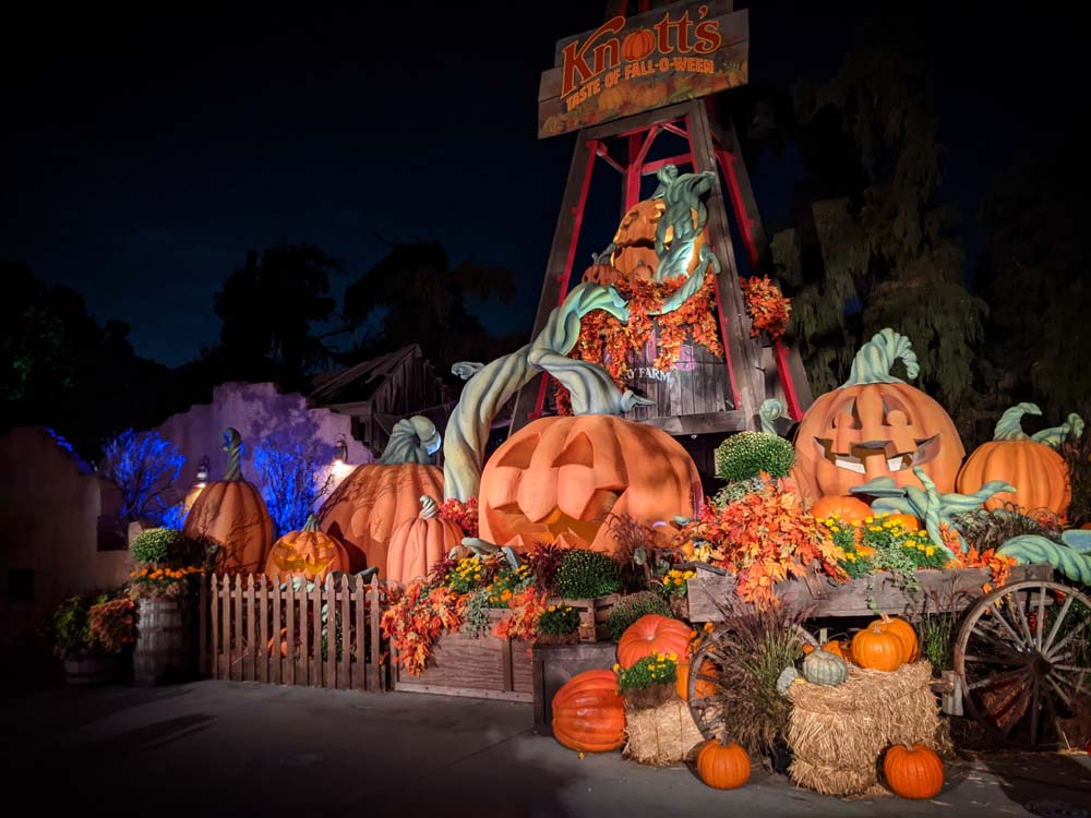 Knott's Taste of Fall-O-Ween