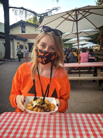 Knott's Taste-of-Falloween food tasting