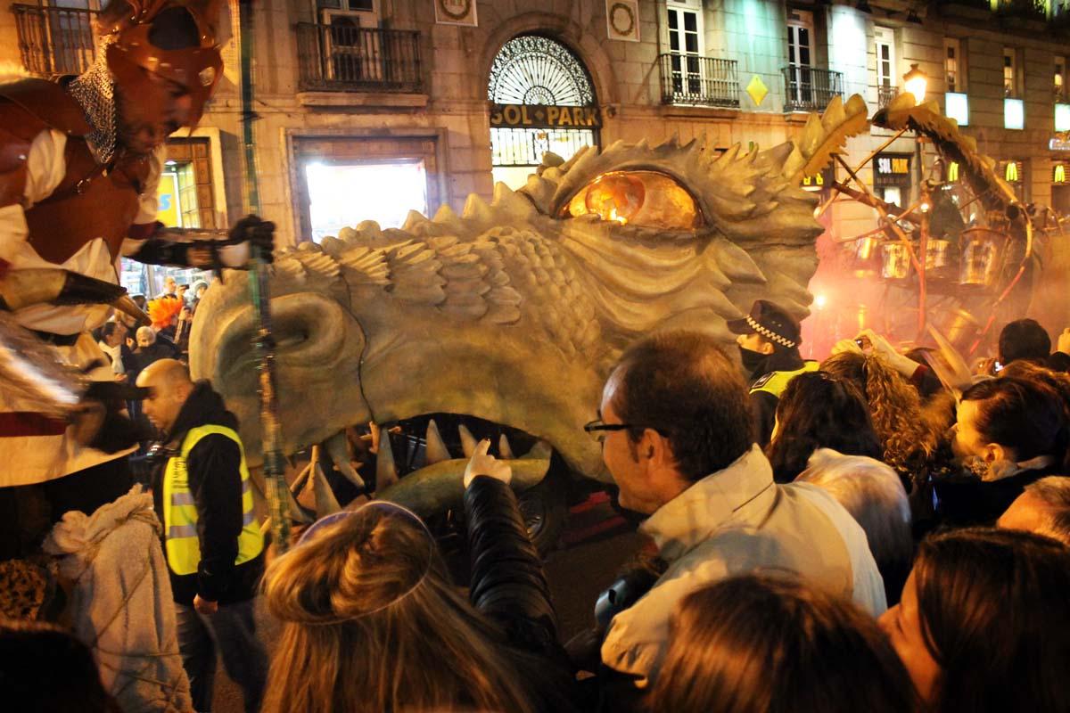 Madrid's Carnaval parade
