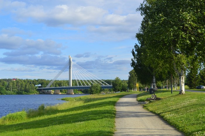 Ounas River, Rovaniemi, Finland