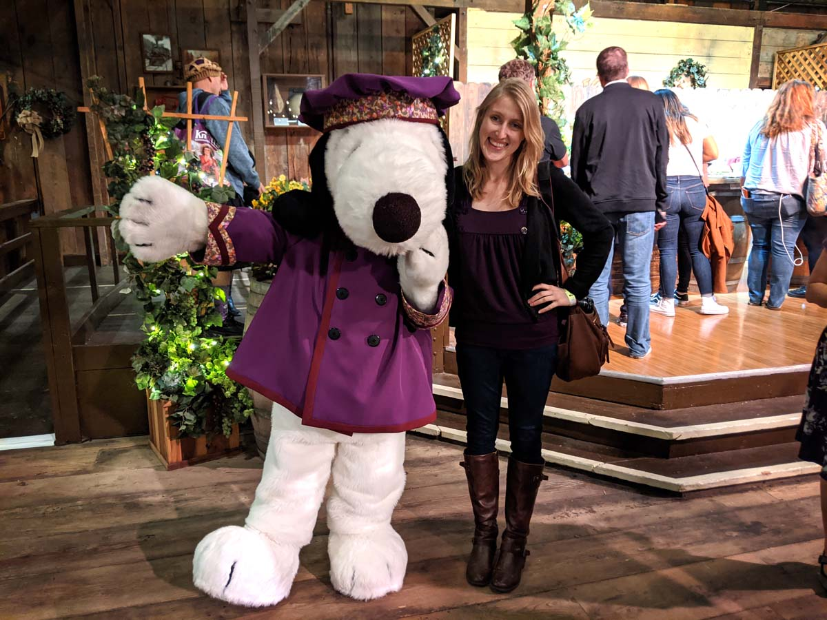 Snoopy at Knott's Boysenberry Festival